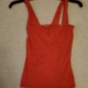 Guess red top. Cami style xs
